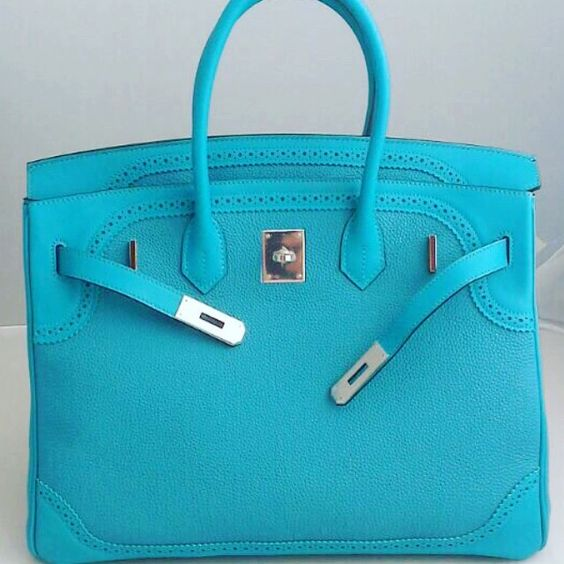 hermes birkin inspired handbags - Great price!!! Bnib B30 Ghillies Turquoise - Togo-Swift - Phw - T ...