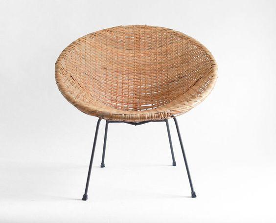 Charmant INCREDIBLE Vtg Wicker 1970u0027s Fan Chair U0026 Cushion #Unbranded #Asian | Vtg  Fan Wicker Chair | Pinterest | Black Cushions And Fans