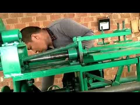 Chain Link Fence Machine Adjusting Video 5 Youtube Chain Link Fence Fence Chain Link