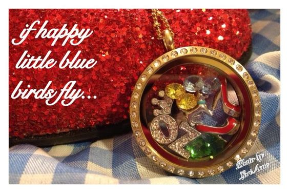 Origami Owl Wizard of OZ Locket
