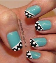 Image detail for -... nail designs , hand painted nail designs , short nails design , cute