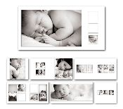 Album Basics 8…gallery-inspired album template from Photographer Cafe