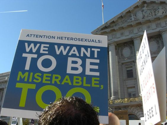fab Prop 8 protest sign