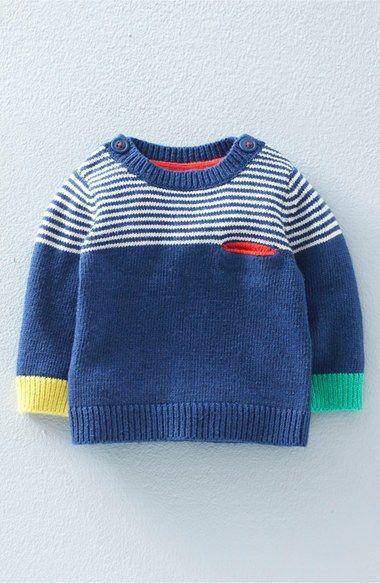 Mini Boden 'Fun' Knit Sweater (Baby Boys & Toddler Boys)