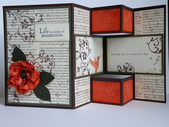 the red boxs from the trifold cardd would be cute on a wall jus sayin