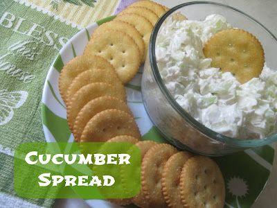 Country Cooks Across America: Cucumber Dip