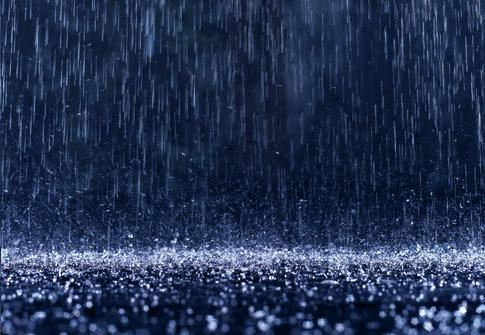 it's pouring....