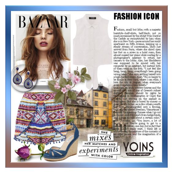 """""""Yoins 5"""" by tanja133 ❤ liked on Polyvore featuring L.K.Bennett, Kate Spade, yoins, yoinscollection and loveyoins"""