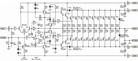 high power amplifier 1500w with transistor hubby project. Black Bedroom Furniture Sets. Home Design Ideas