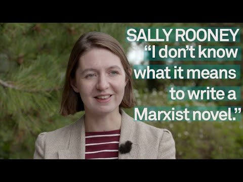 Sally Rooney Interview Writing With Marxism Youtube Writing Play Book Book Awards