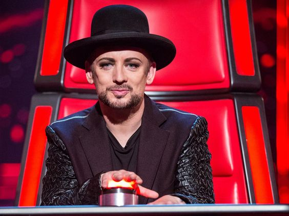 Boy George brought a bit of an '80s vibe to 'The Voice'