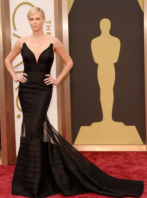 RED CARPET - #OSCARS2014 - CHARLIZE THERON