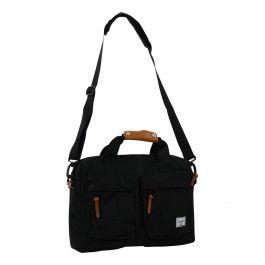 Herschel functionele heren tas met fleece gevoerd, geschikt voor laptops.