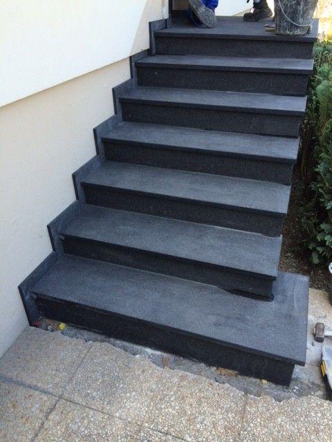 Escalier Granit 68 Escalier Exterieur Alsace Terrasse 68 Escalier Exterieur Marches Exterieur Escalier