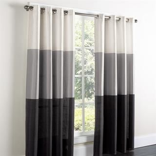 White Grey Black Curtains Bedroom Decor Pinterest Grey Decor And Black