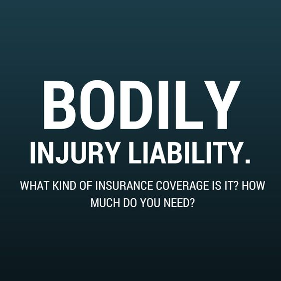 What is Bodily Injury Liability Insurance? How Much Coverage Do I Need?  Keep Reading: - http://www.askaninjurylawyer.com/2014/09/what-is-bodily-injury-liability.html