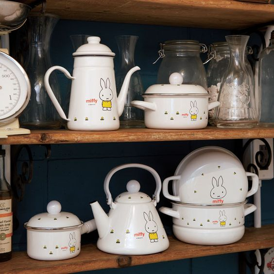 Miffy Pots And Pans Wallen