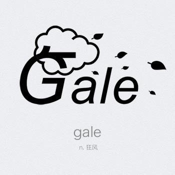 字體設計師Toshie的創意單詞,英文也可以象形! » ㄇㄞˋ點子靈感創意誌