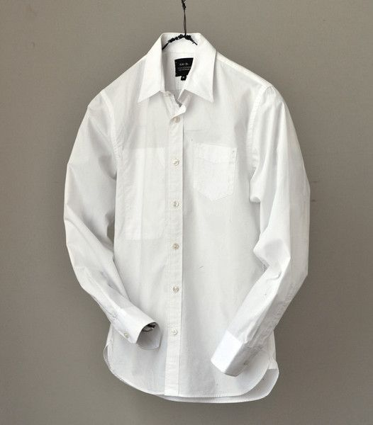 Alden White Shirt | Kai D. collection