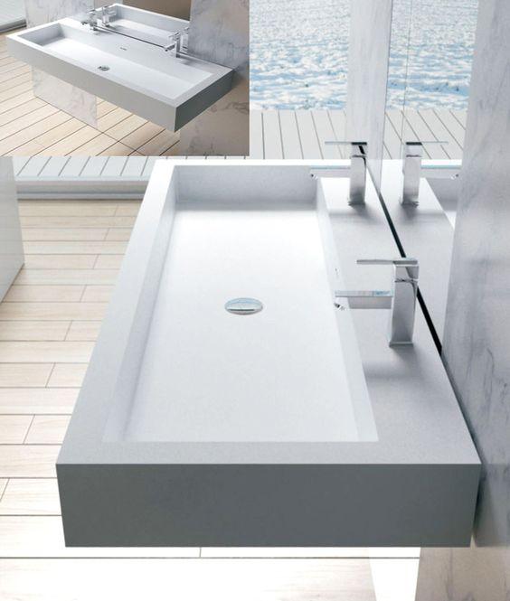 Stone Usa Sinks : ... ideas adm bathroom bathroom sinks sinks adm double sink vanity double