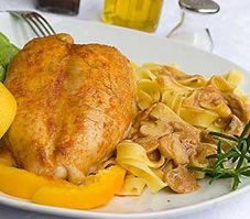 Readers Digest - Chicken Breasts with Peaches and Ginger