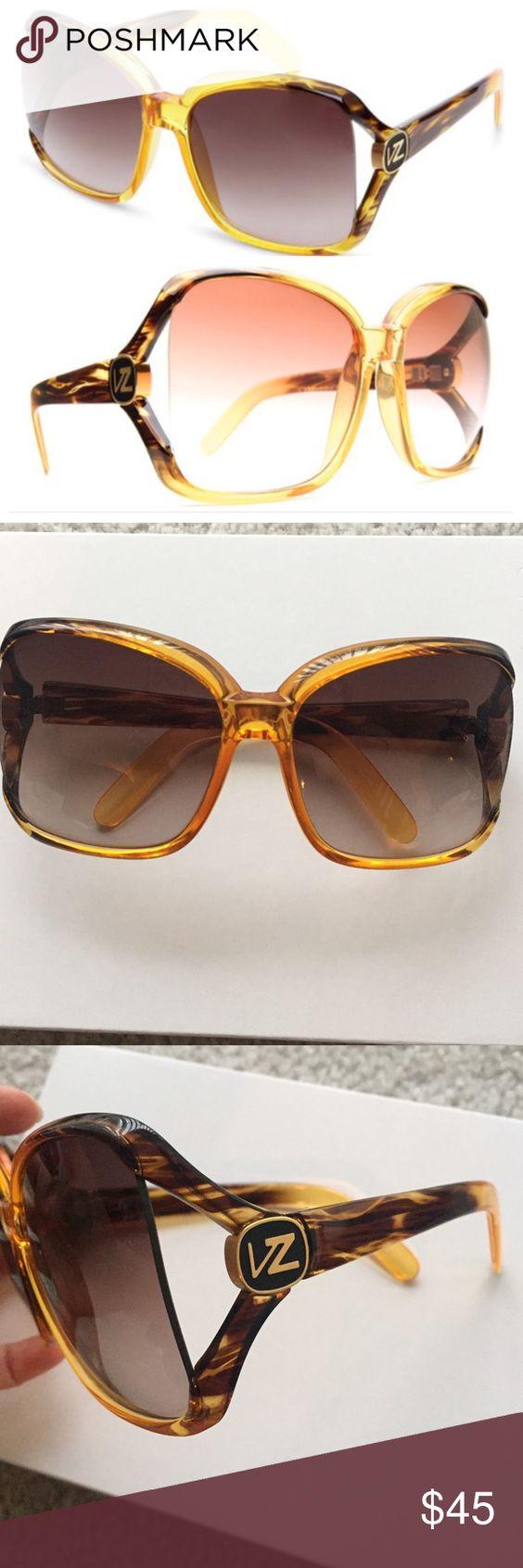 Von Zipper Dharma Sunglasses Von Zipper Dharma sunglasses - brown.  No scratches. Von Zipper Accessories Sunglasses