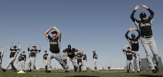 Pitchers and Catchers have reported! Mariners 2012