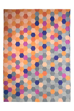 Fenton and Fenton Pixagon Dhurrie designer series rug! We got this for our living room so excited for it to arrive