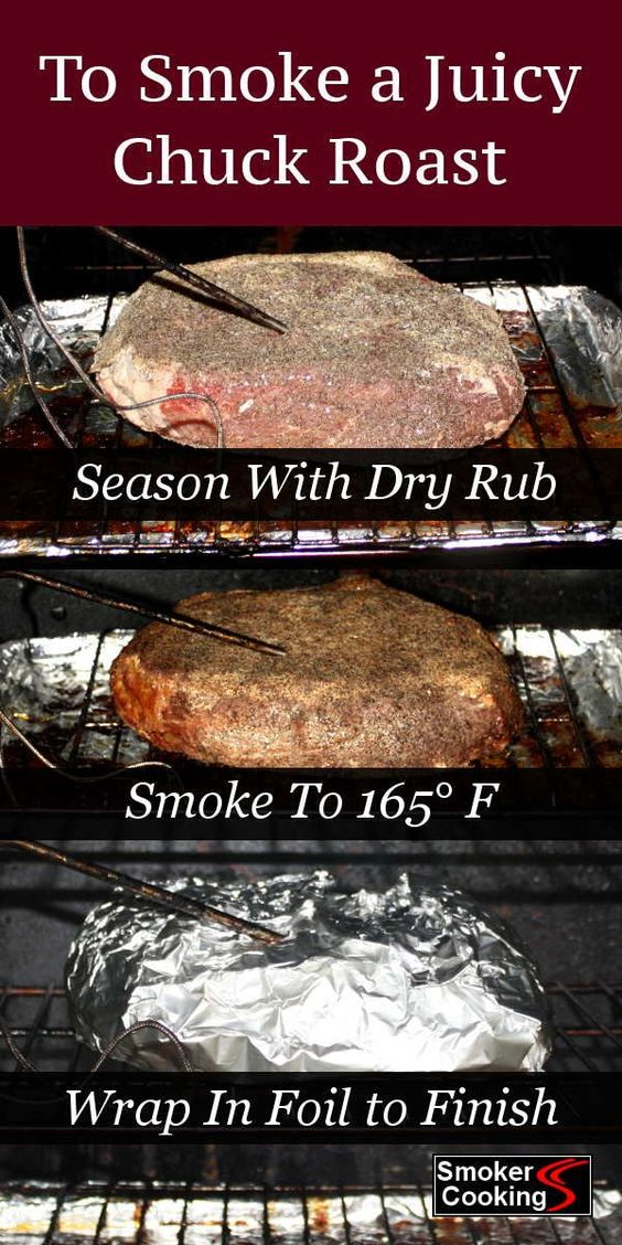 Method For Smoking Chuck Roast That's Juicy and Fall-Apart Tender!