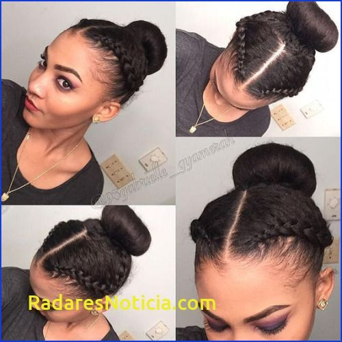 Fine Best Of Easy To Do Hairstyles For Relaxed Hair Simple Hairstyle For Protective Hairstyle In 2020 Short Relaxed Hairstyles Natural Hair Styles Relaxed Hair