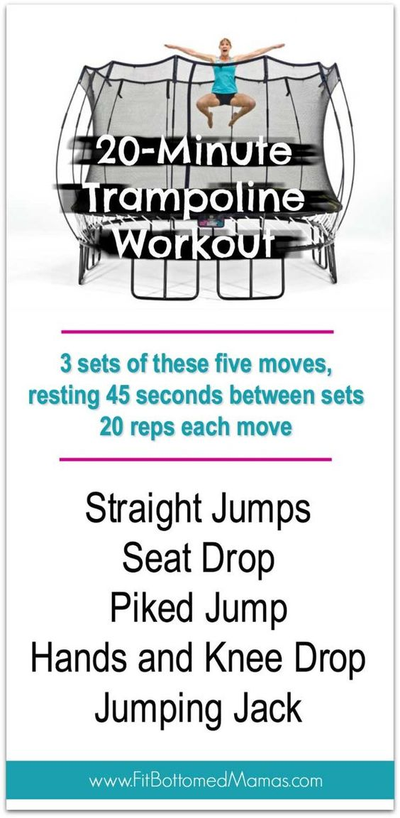 Got a trampoline? Get to jumping, mama! | Fit Bottomed Mamas