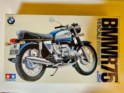 Tamiya 1 6 Bmw R75 1972 Model Kit Big Scale Motorcycle Model Kits Motorcycle Model Bmw Ads
