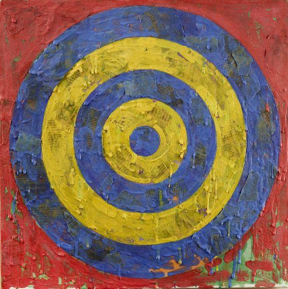Jasper Johns, Target, 1967-1969