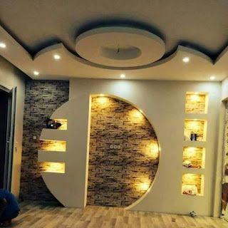 Diy Gypsum Gypsum Board Preview 108 Tv Wall Design From Gypsum And Gypsum Bord Tv Wall Design Wall Unit Designs Lcd Wall Design