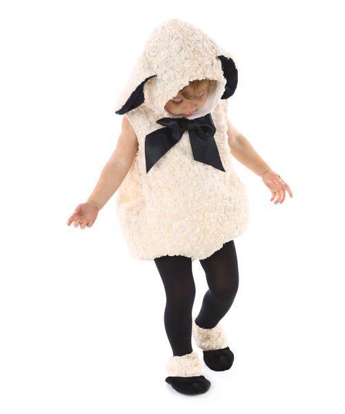vintage lamb baby costume