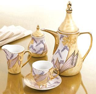 Porcelain Tea Set And Coffee Set