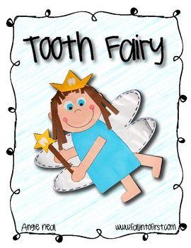 Tooth Fairy Craft: Kindergarten February, Education Kindergarten, Dental Health, Kindergarten Dental, Writing Idea, Art Activities, Art Writing, Fairy Crafts