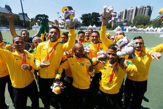 Brasil termina Parapan em primeiro lugar com 257 medalhas, 109 de ouro / A participação marcante dos brasileiros aumenta a expectativas para as Paralimpíadas do ano que vem, nos Jogos Rio 2016