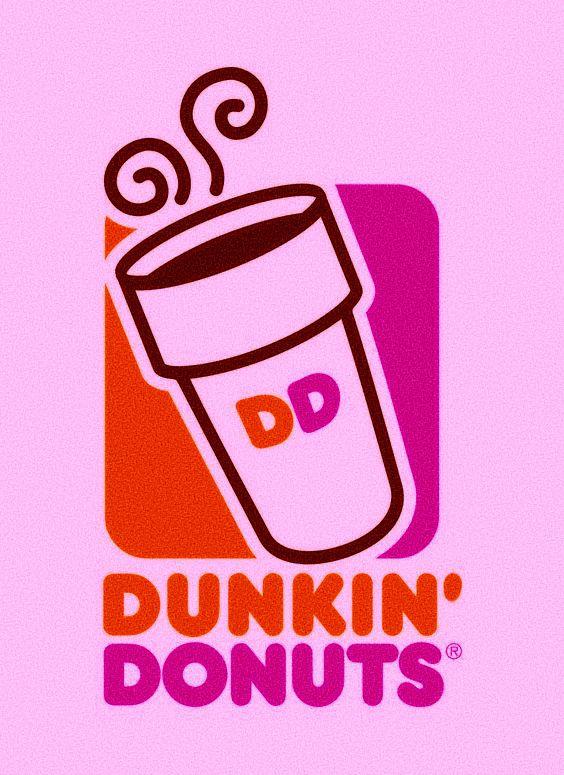 Aesthetic Pink Dunkin Donuts Logo Donut Logo Dunkin Dunkin Donuts