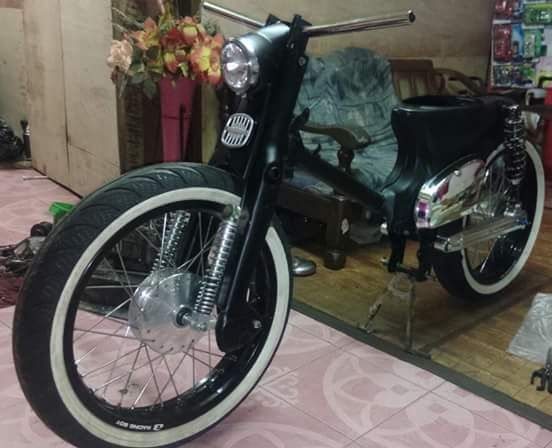 ide honda grand modifikasi