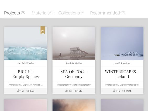 Behance Cover Image – Redesign Concept