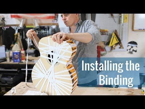 Building An Acoustic Guitar In 2016 I Made An Instructional Video Series For Building A Cedar Strip Canoe In 2020 Guitar Building Acoustic Guitar Cedar Strip Canoe