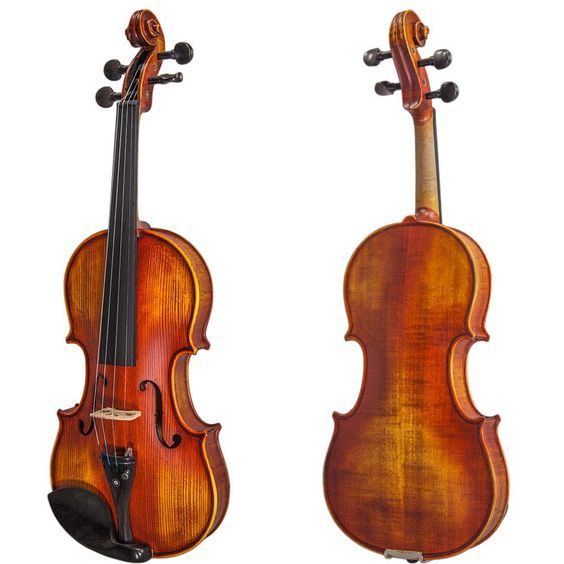 Solid wood violin in all sizes