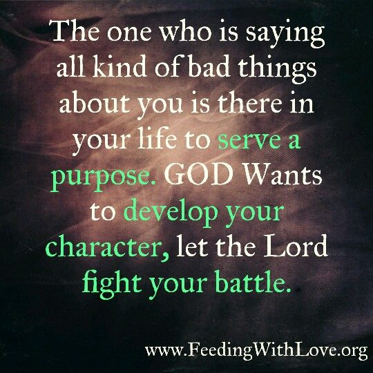 Talking Bad About Someone Quotes: Let God Handle The Ones Who Are Talking Bad About You