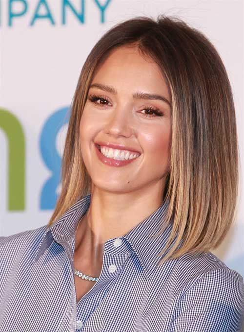 14 Bob Haircut For 2018 Blouse 2019 Jessica Alba Hair Hair