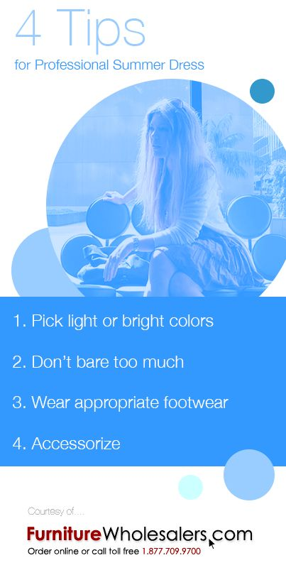 Tips for Professional Dress in the Summer #dress #office #Tips