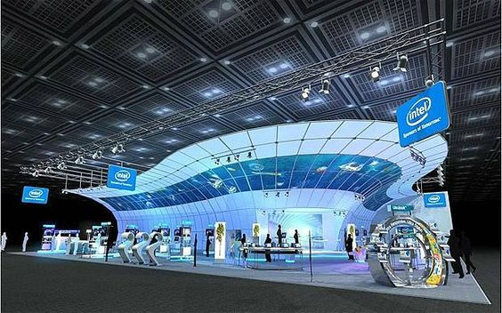intel booth design in indaba expo - Google Search