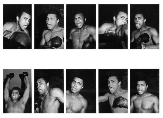 The young Muhammad Ali.