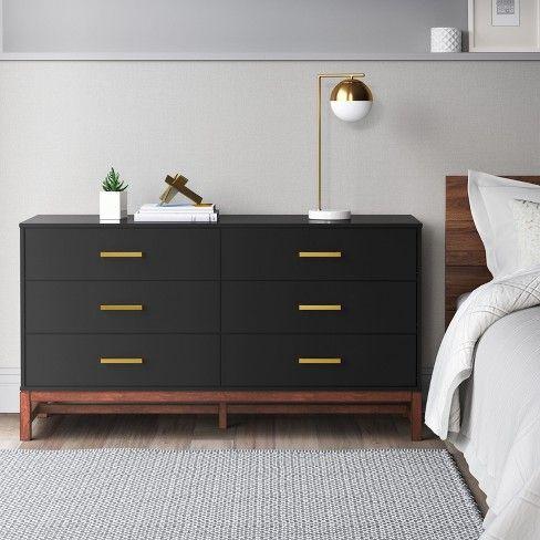 Guthrie Two Tone 6 Drawer Dresser Project 62 Target Dresser