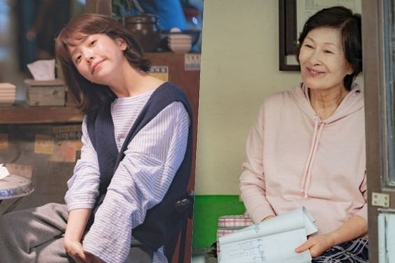 "Han Ji Min And Kim Hye Ja Shine In Behind-The-Scenes Stills From ""Radiant"""